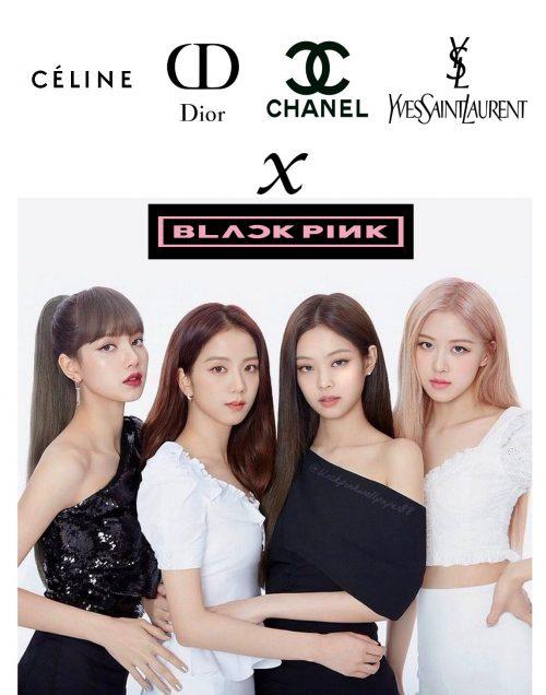 Blackpink x Brand name